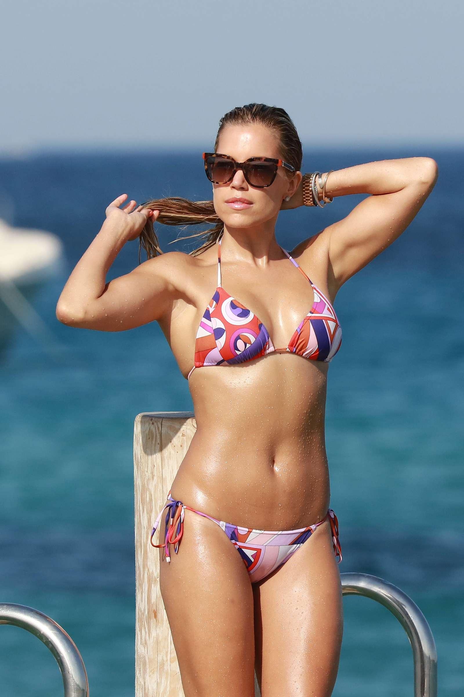 Sylvie Meis Hot Bikini Candids in St. Tropez | GotCeleb