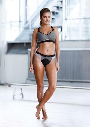 Sylvie Meis - Hunkemoller Sylvie Sport Collection 2016