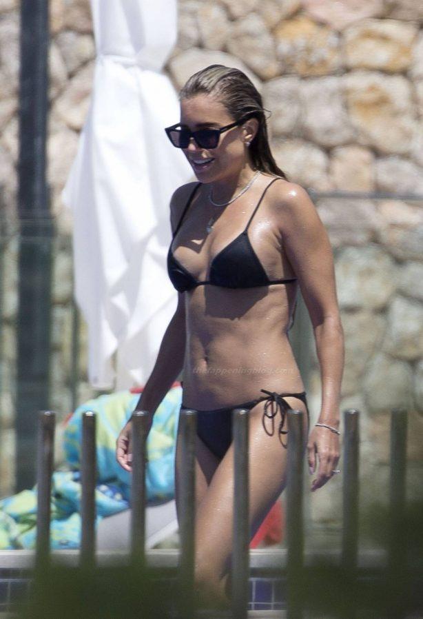 Sylvie Meis -In a bikini enjoying her holidays in Mallorca