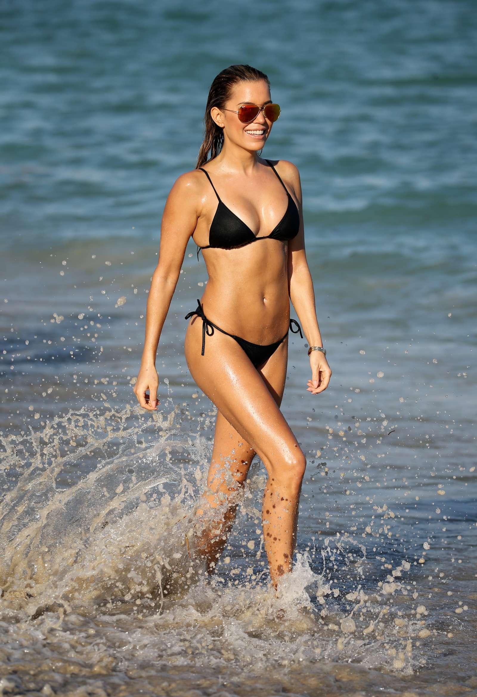 Sylvie Meis 2017 : Sylvie Meis in Black Bikini 2017 -02