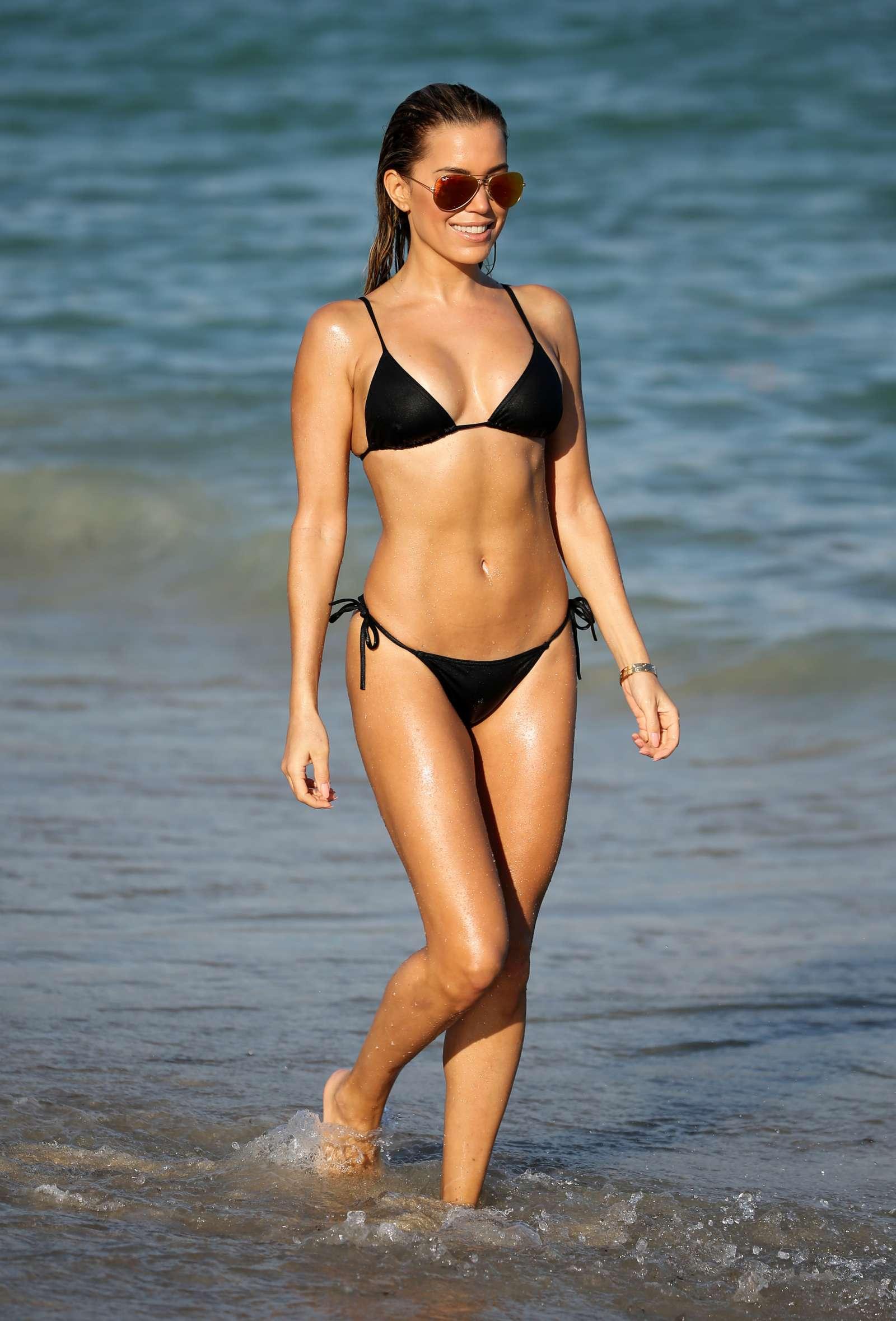 Sylvie Meis 2017 : Sylvie Meis in Black Bikini 2017 -03