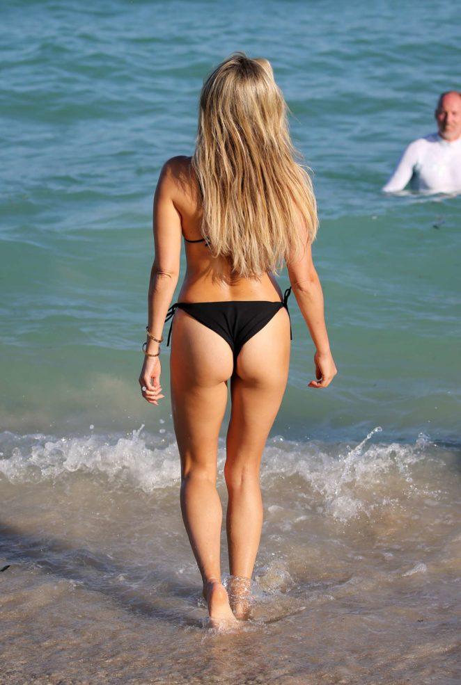 Sylvie Meis 2017 : Sylvie Meis in Black Bikini 2017 -05