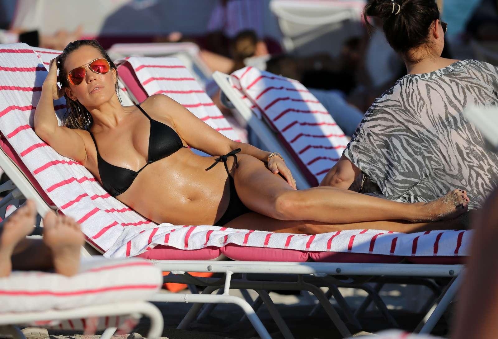 Sylvie Meis 2017 : Sylvie Meis in Black Bikini 2017 -12