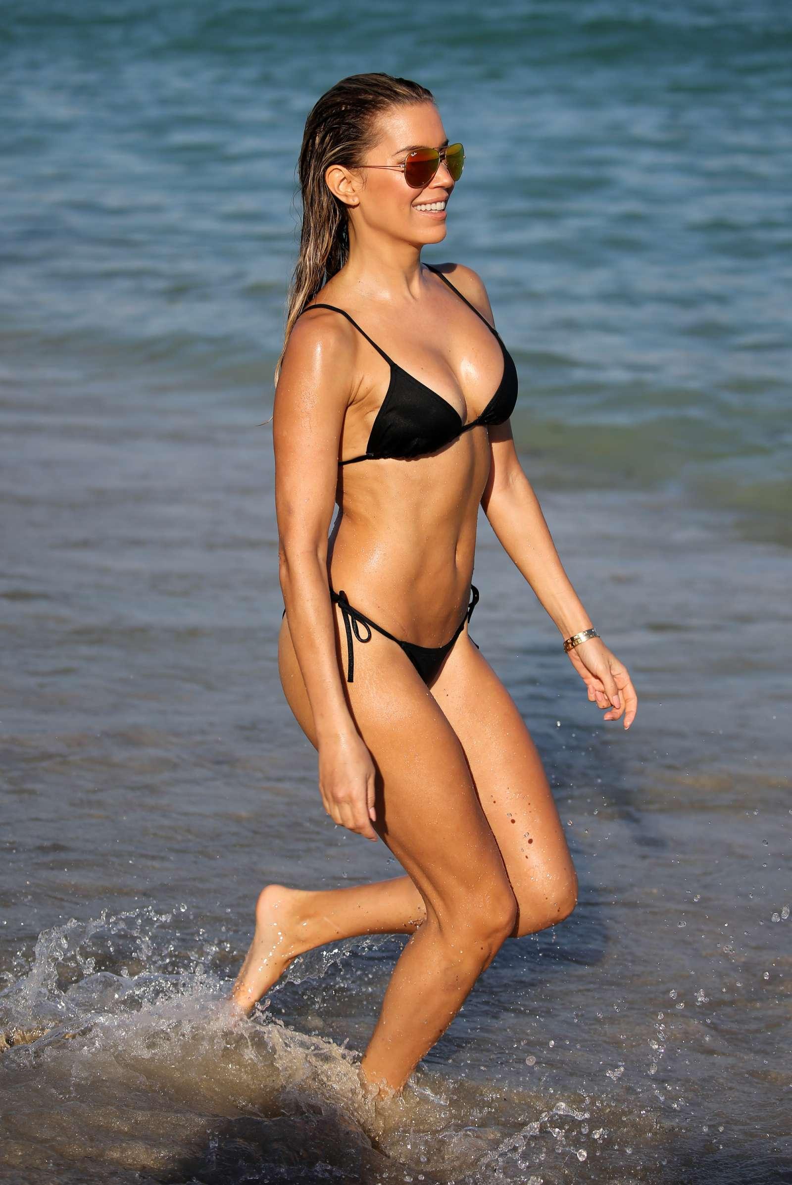 Sylvie Meis 2017 : Sylvie Meis in Black Bikini 2017 -15