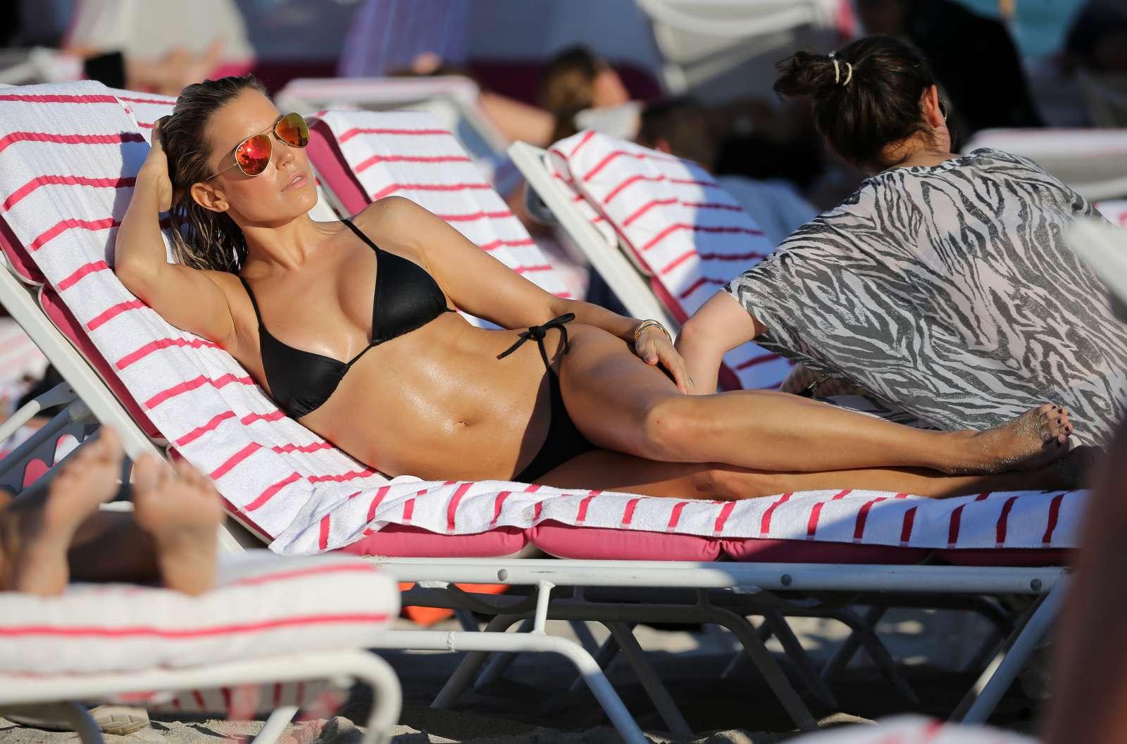 Sylvie Meis 2017 : Sylvie Meis in Black Bikini 2017 -18