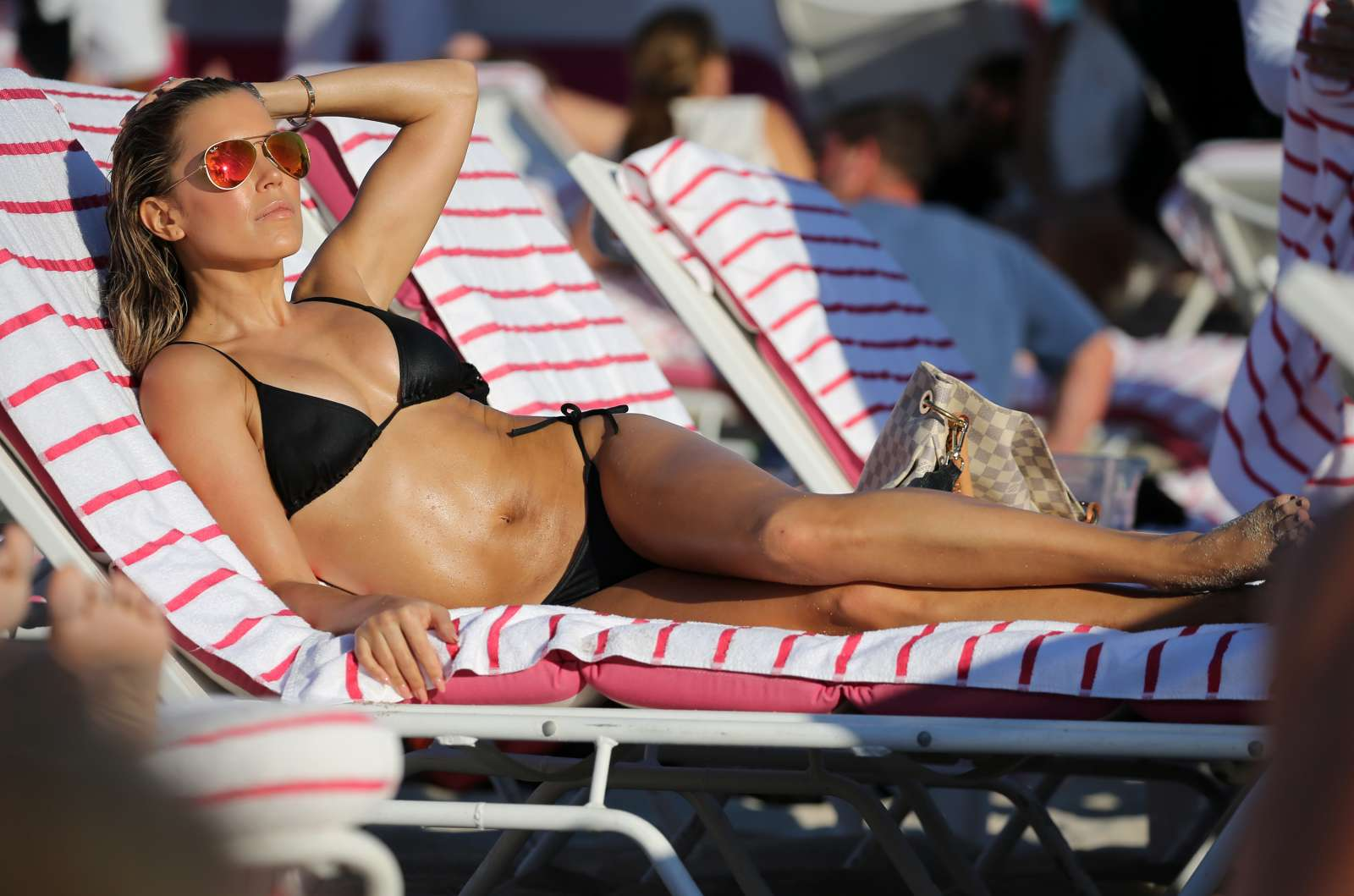 Sylvie Meis 2017 : Sylvie Meis in Black Bikini 2017 -19