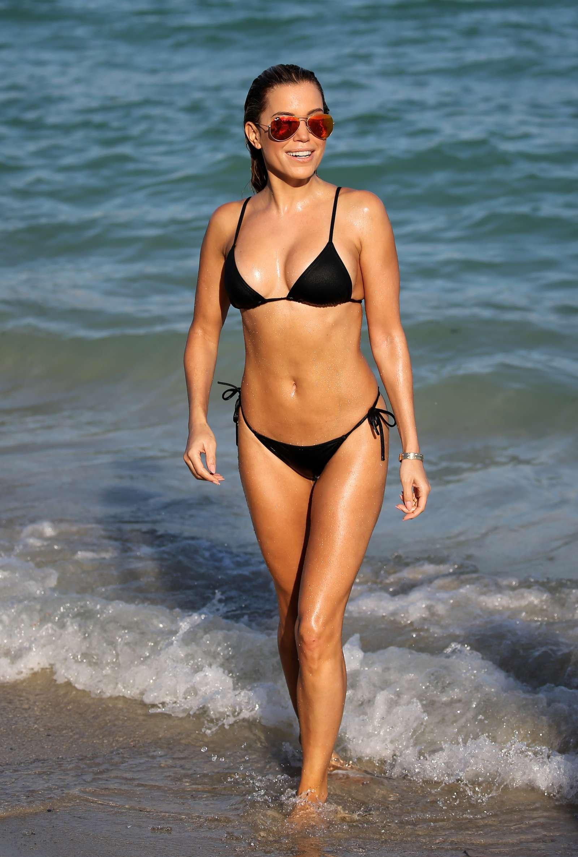 Sylvie Meis 2017 : Sylvie Meis in Black Bikini 2017 -21