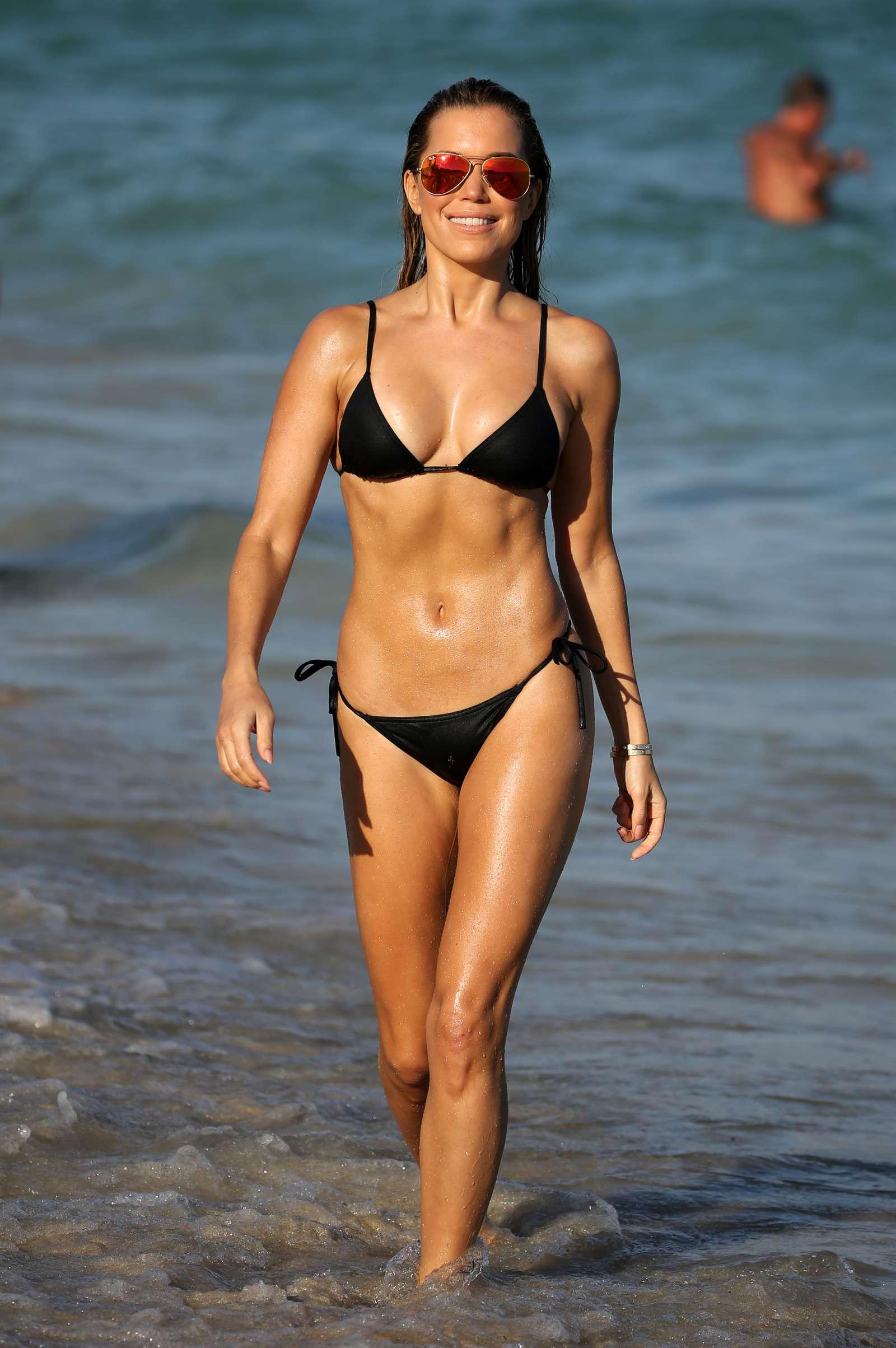 Sylvie Meis 2017 : Sylvie Meis in Black Bikini 2017 -24