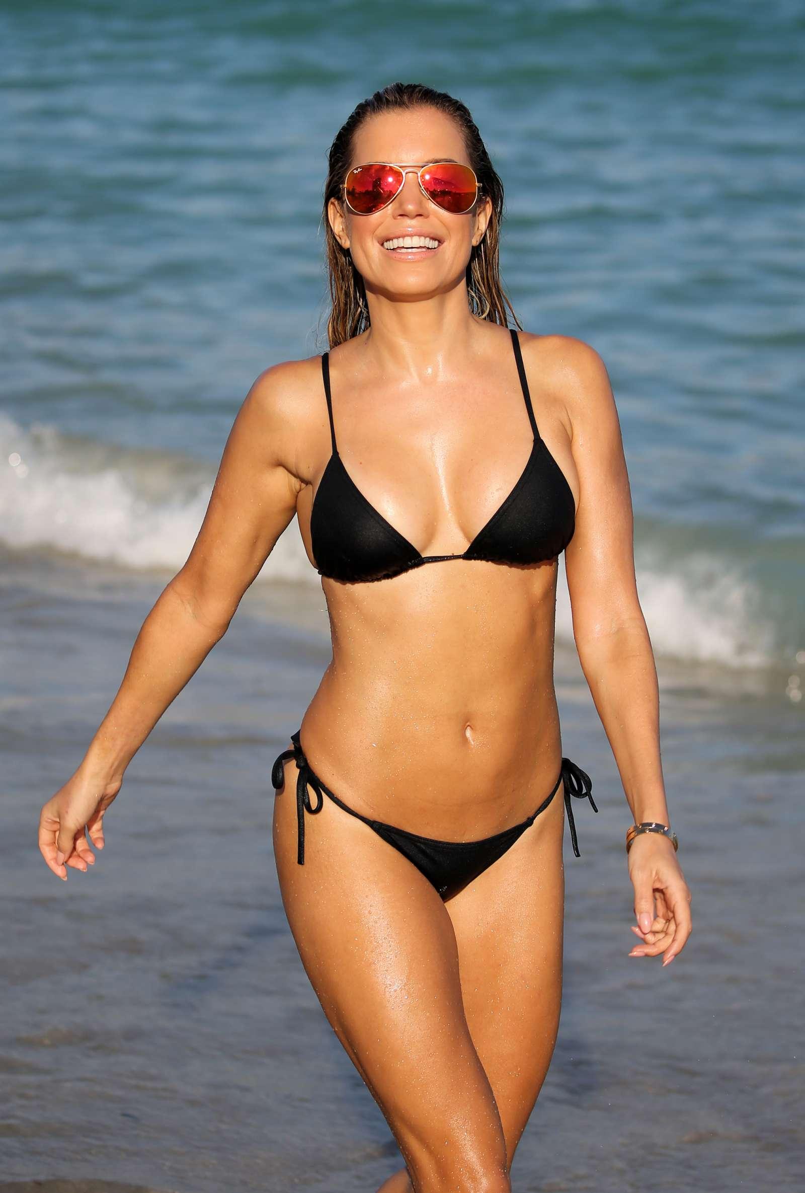 Sylvie Meis 2017 : Sylvie Meis in Black Bikini 2017 -25