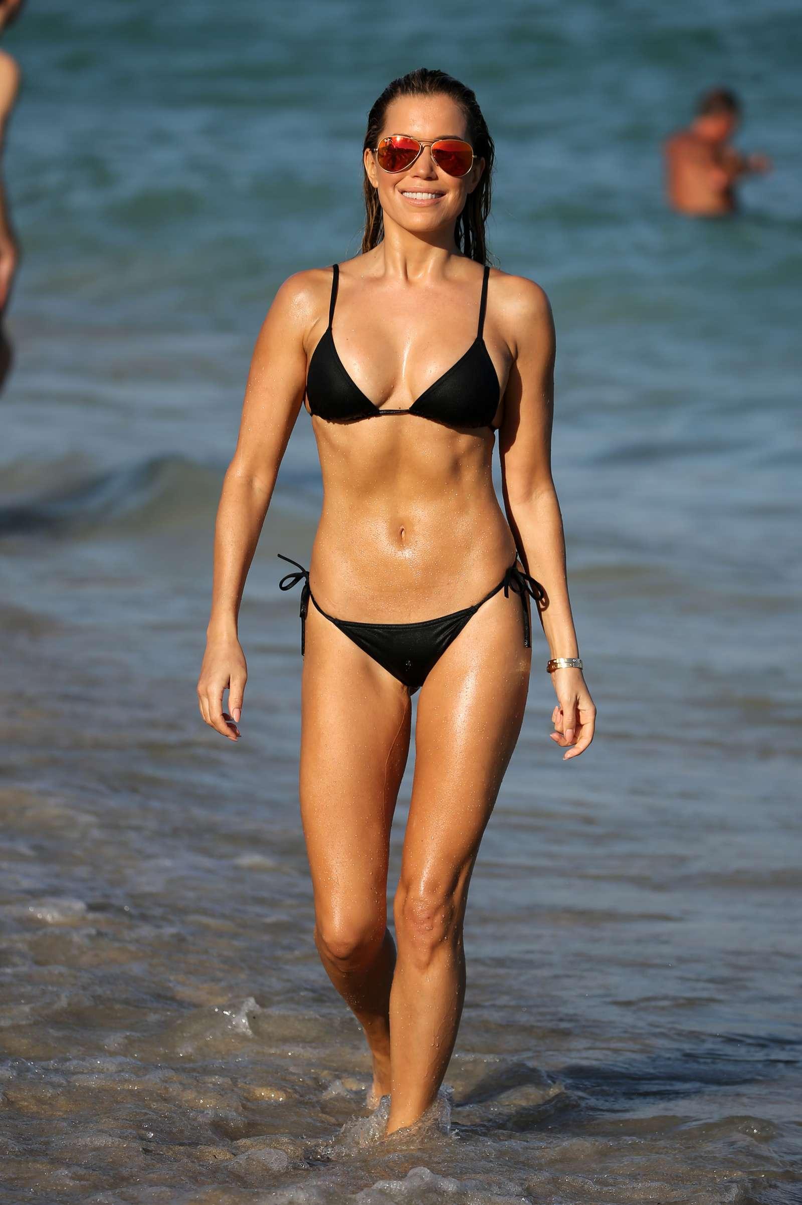 Sylvie Meis 2017 : Sylvie Meis in Black Bikini 2017 -28