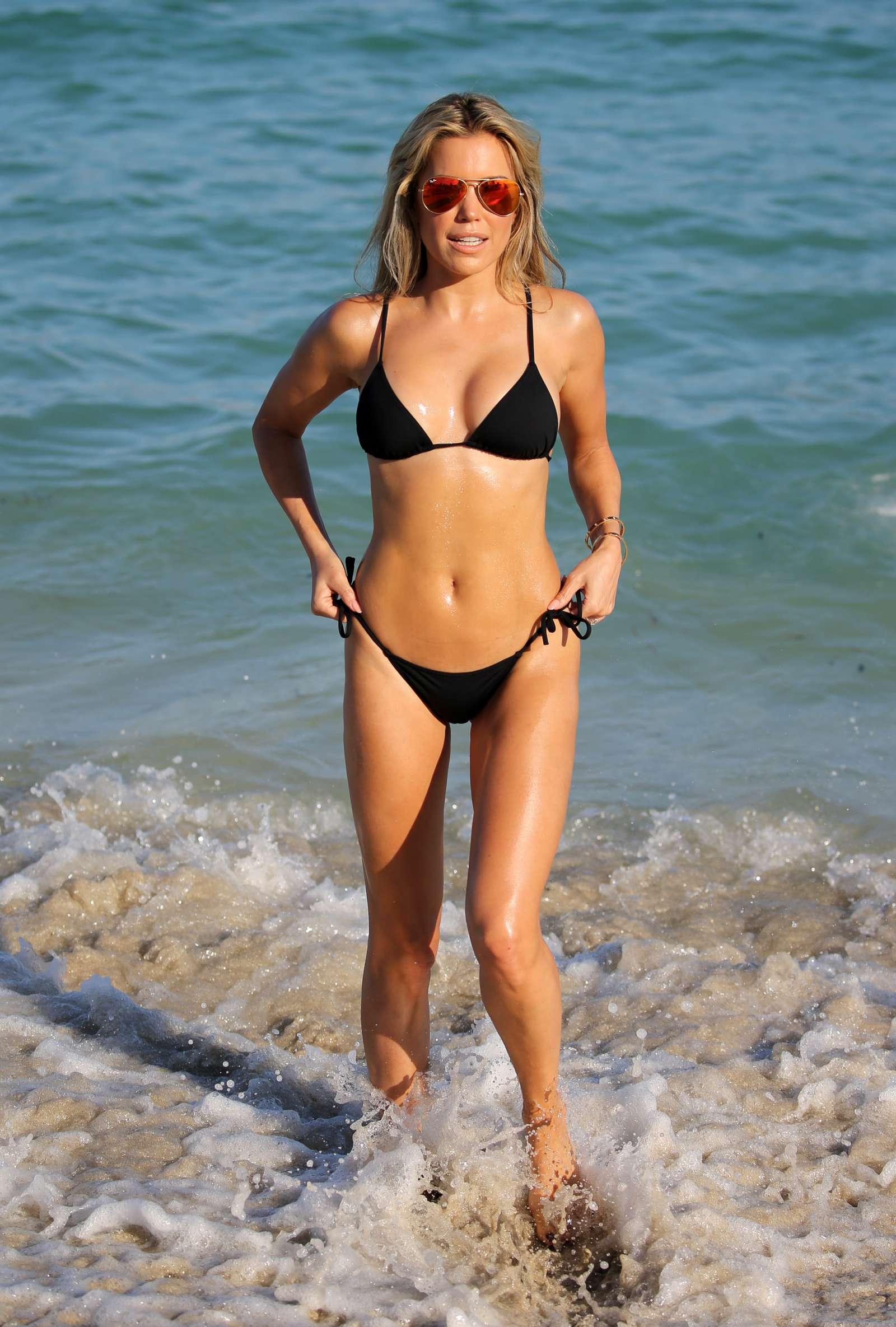Sylvie Meis 2017 : Sylvie Meis in Black Bikini 2017 -29