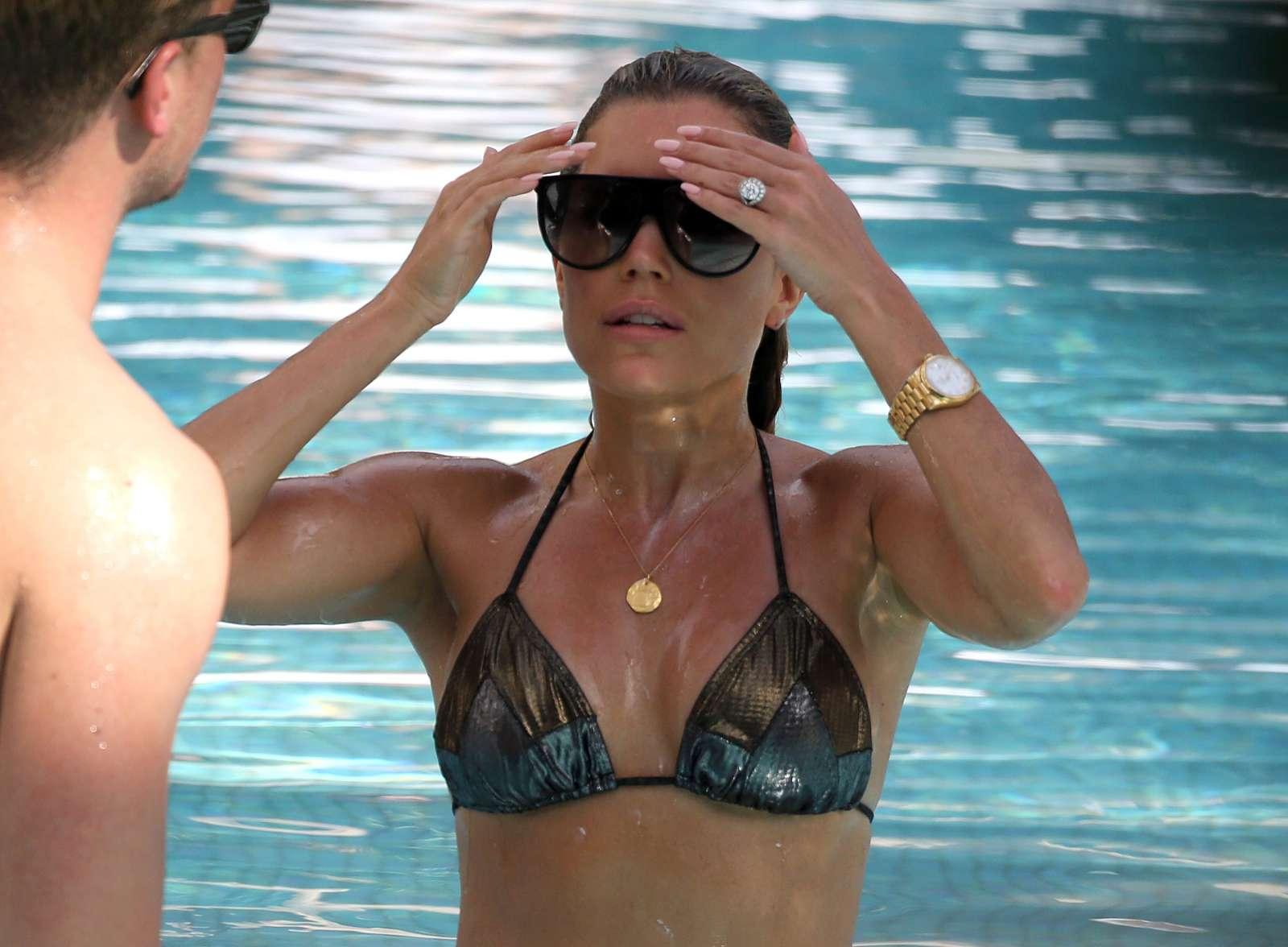 Sylvie Meis 2019 : Sylvie Meis in Black Bikini 2019 -06