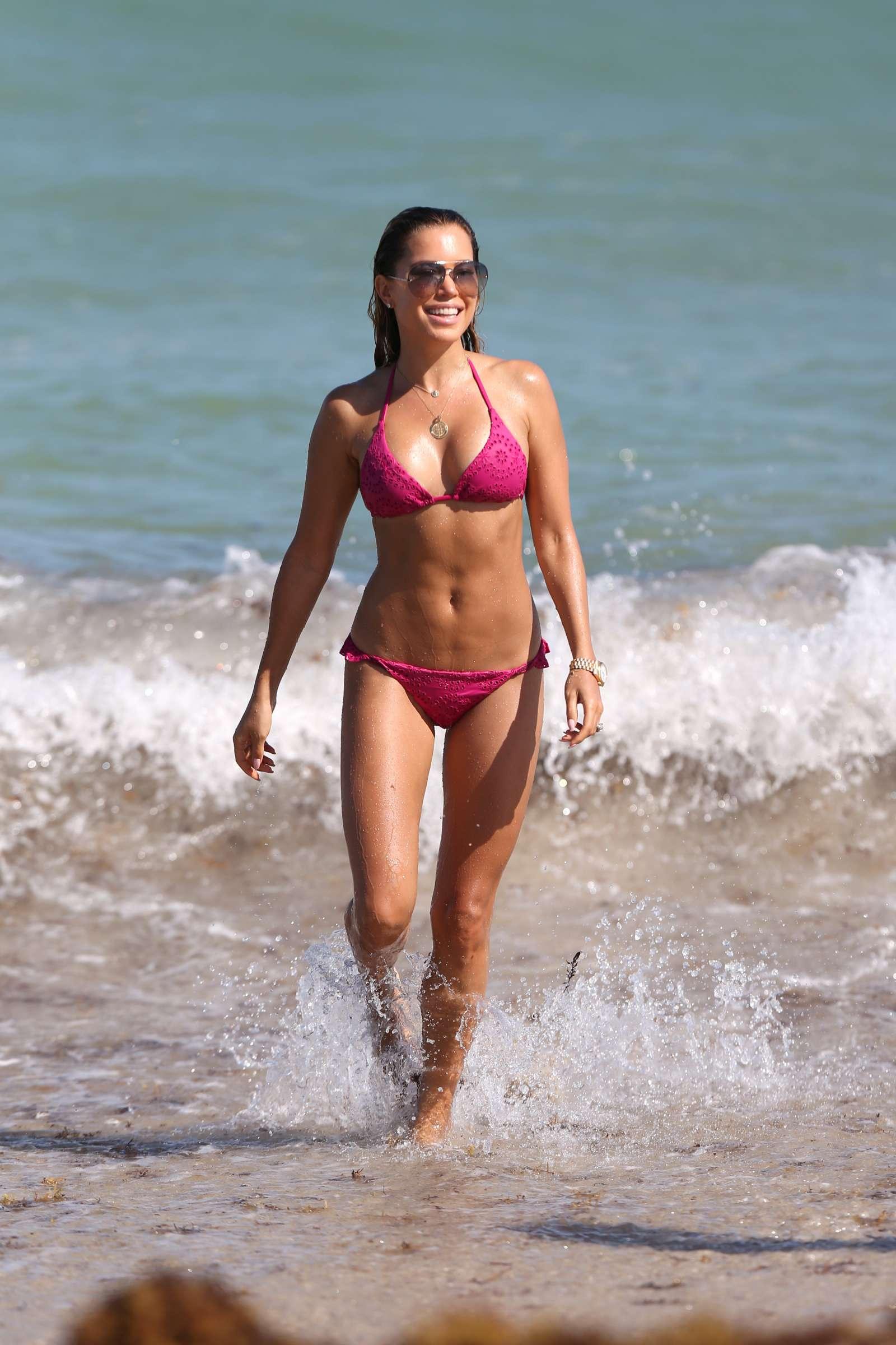 Sylvie Meis 2018 : Sylvie Meis in Pink Bikini 2018 -04