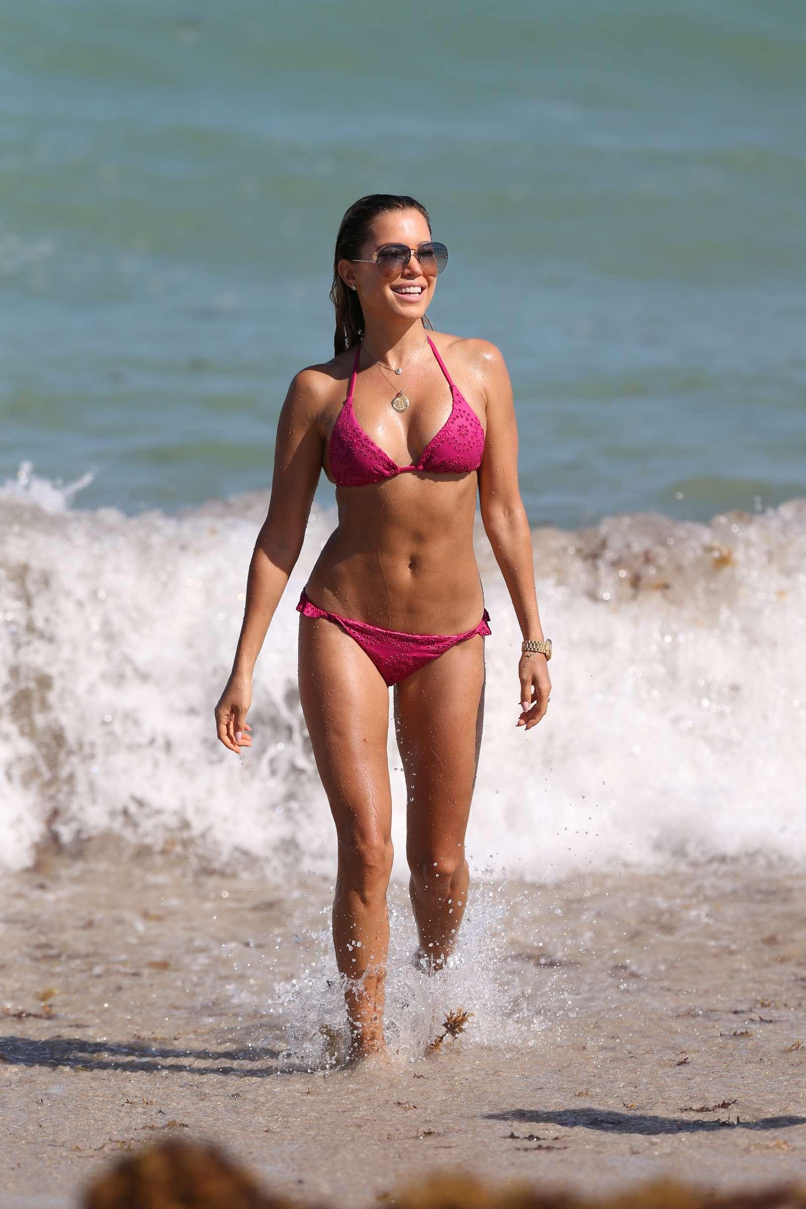 Sylvie Meis 2018 : Sylvie Meis in Pink Bikini 2018 -06