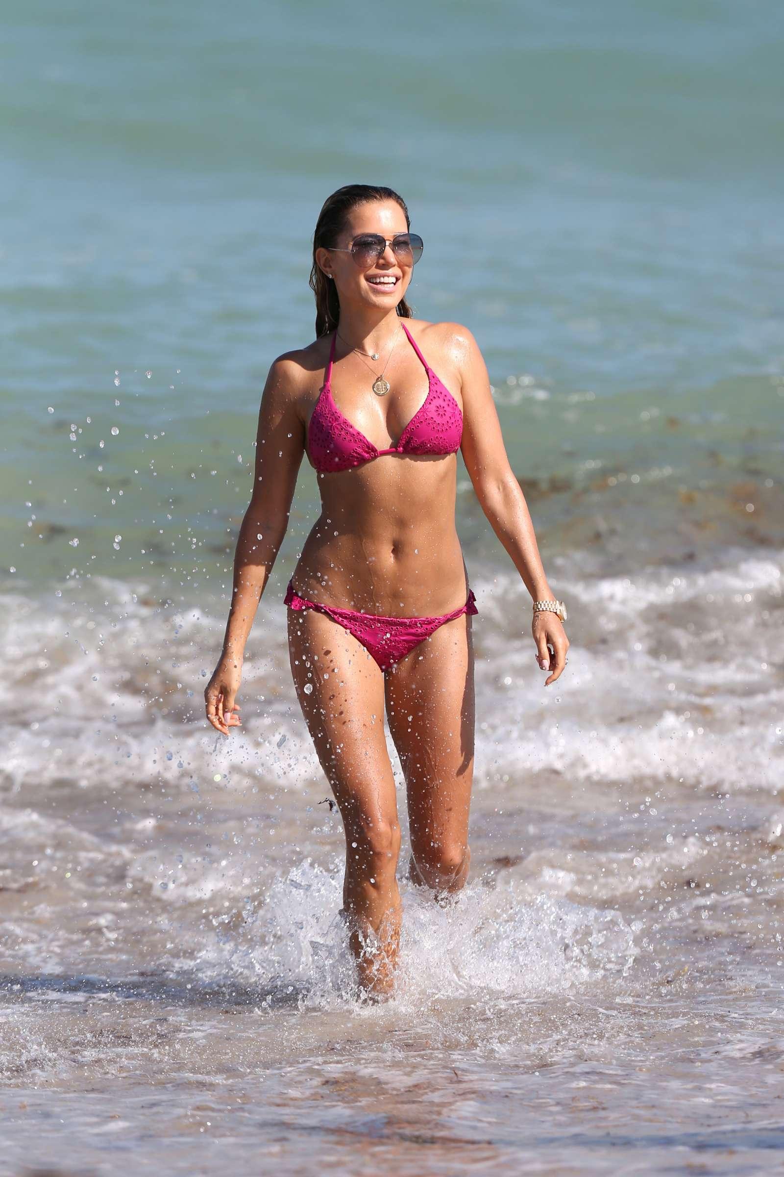 Sylvie Meis 2018 : Sylvie Meis in Pink Bikini 2018 -09