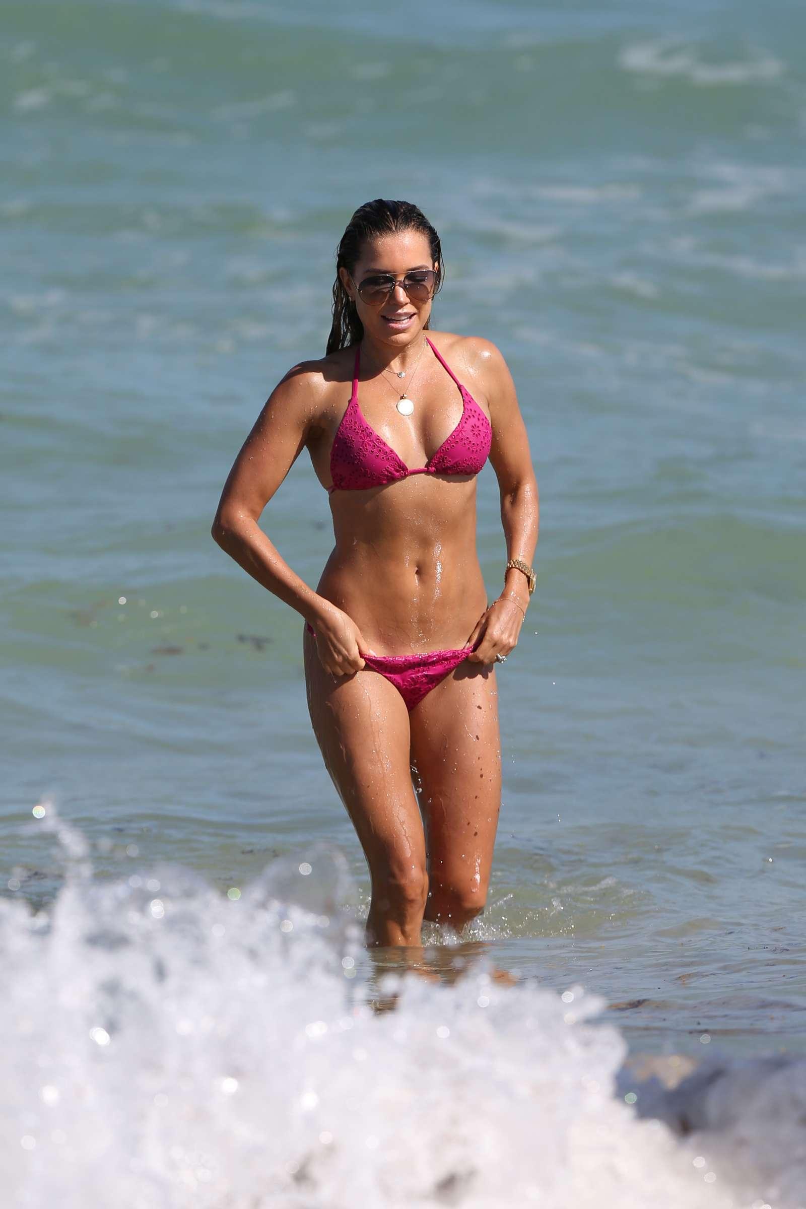 Sylvie Meis 2018 : Sylvie Meis in Pink Bikini 2018 -11