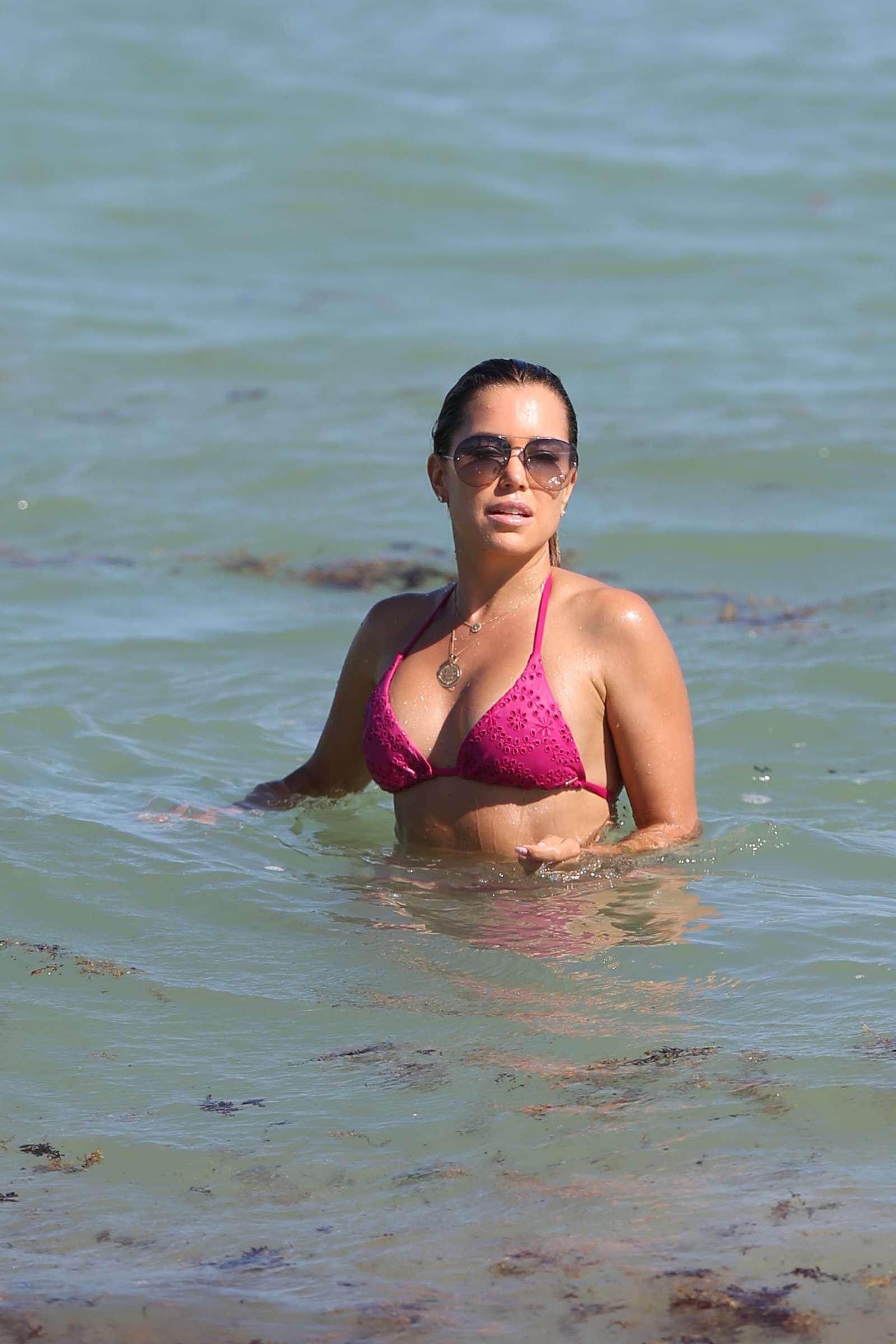 Sylvie Meis 2018 : Sylvie Meis in Pink Bikini 2018 -12