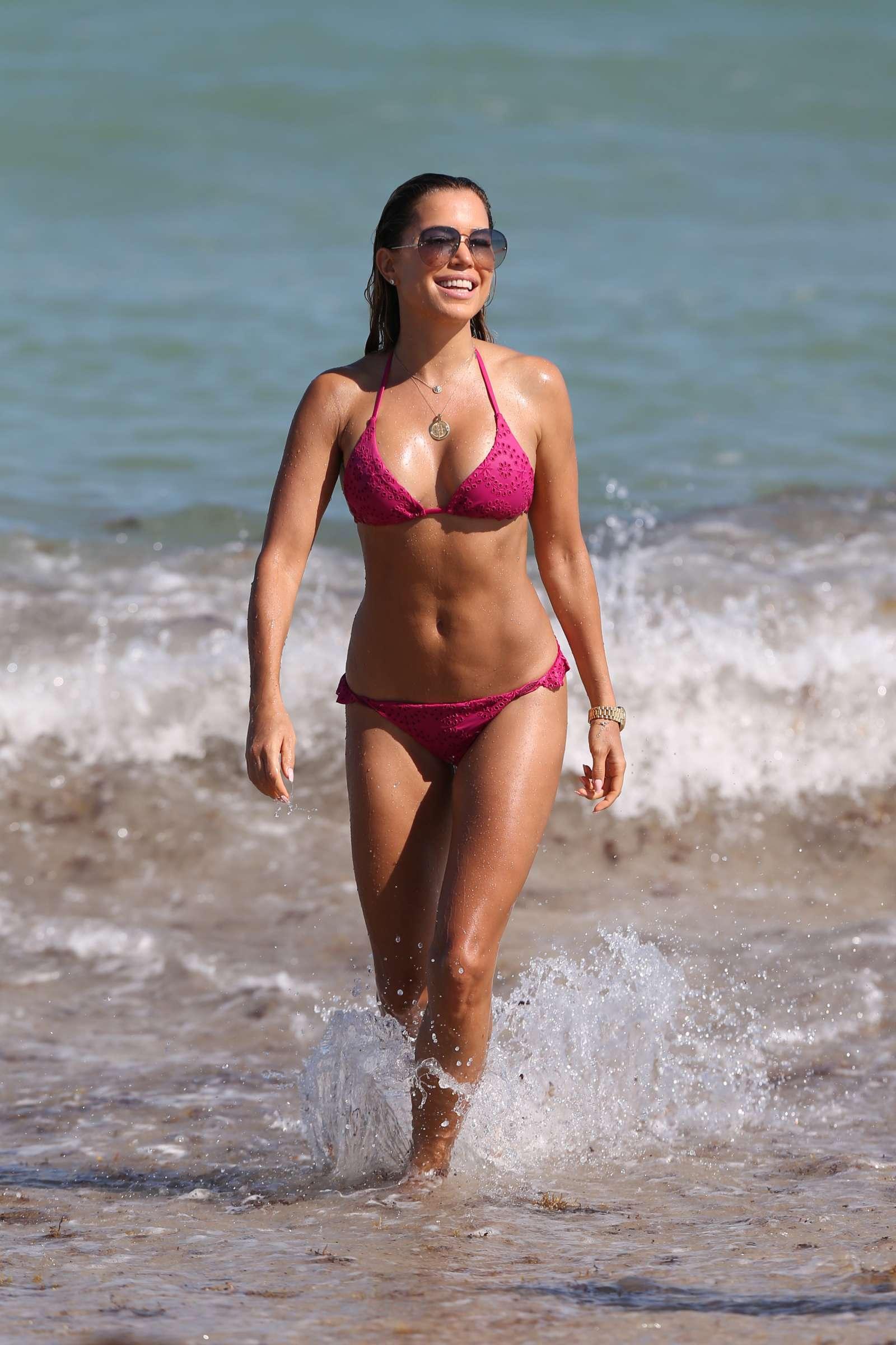 Sylvie Meis 2018 : Sylvie Meis in Pink Bikini 2018 -13