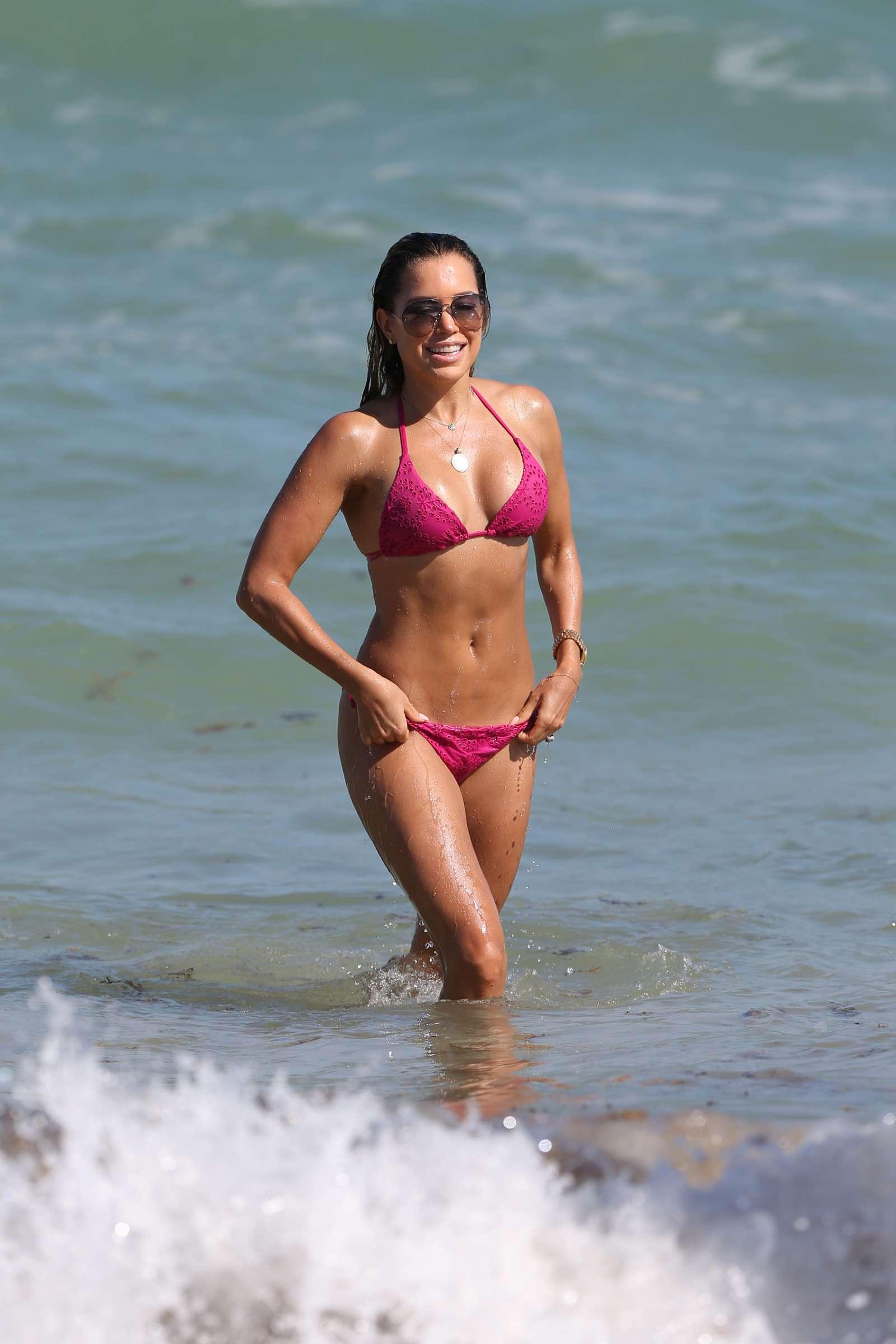 Sylvie Meis 2018 : Sylvie Meis in Pink Bikini 2018 -14