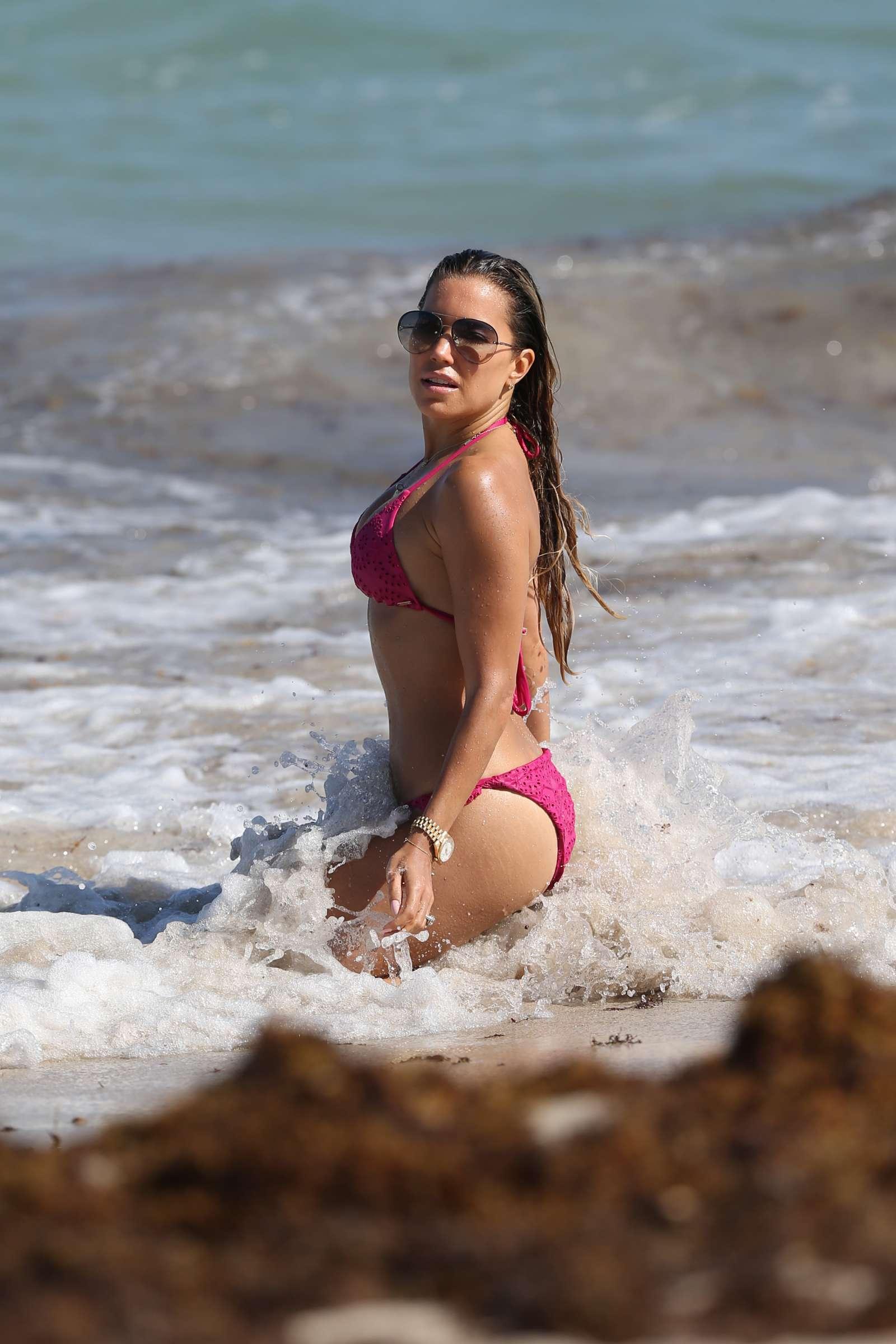 Sylvie Meis 2018 : Sylvie Meis in Pink Bikini 2018 -15