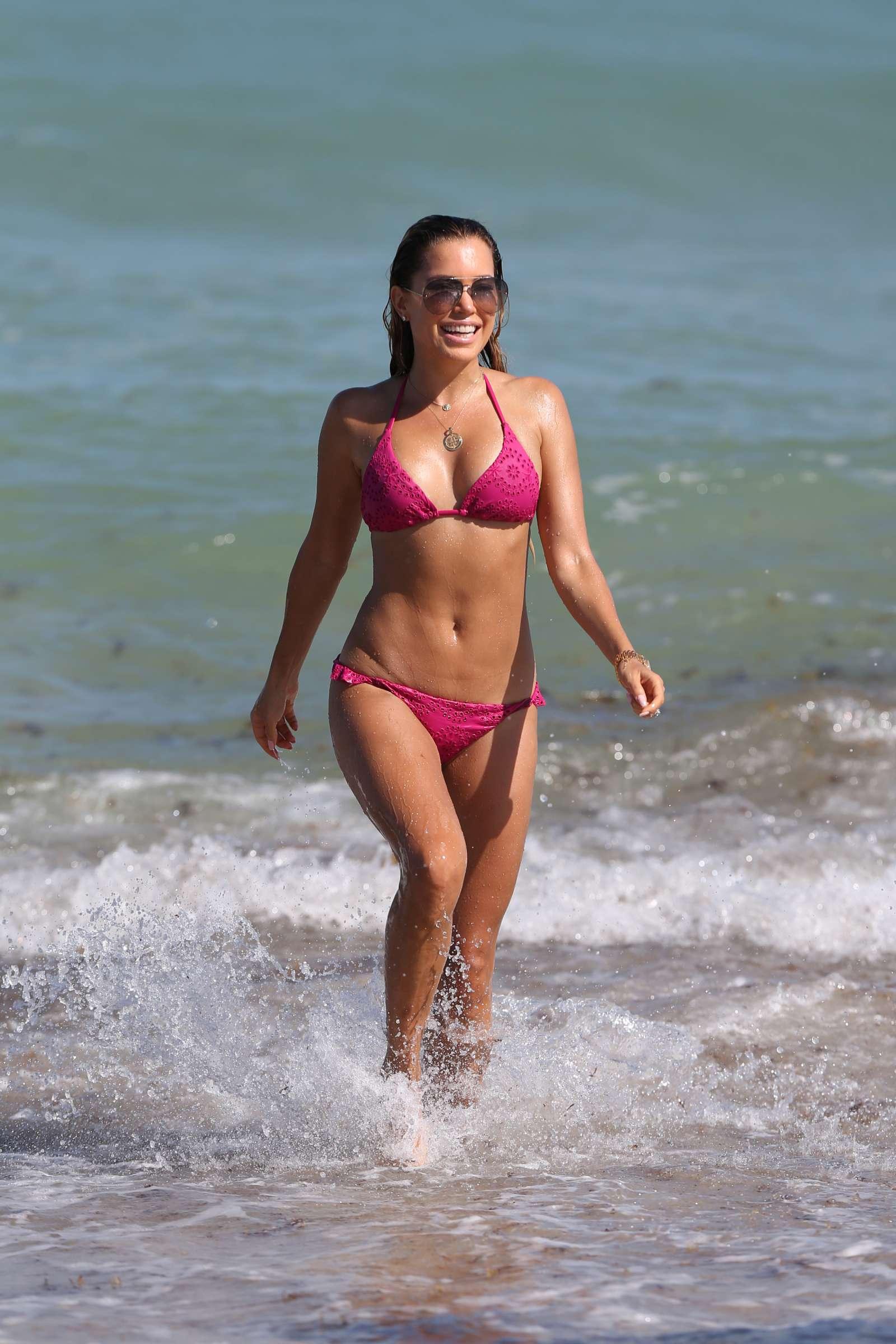 Sylvie Meis 2018 : Sylvie Meis in Pink Bikini 2018 -22