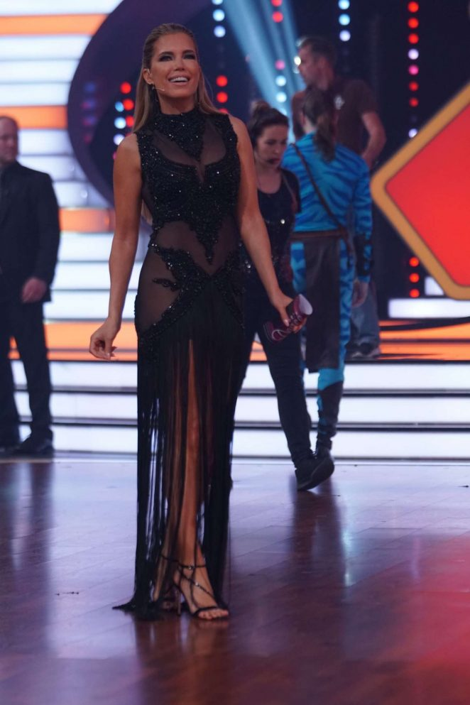 Sylvie Meis - Let's Dance Finale in Cologne
