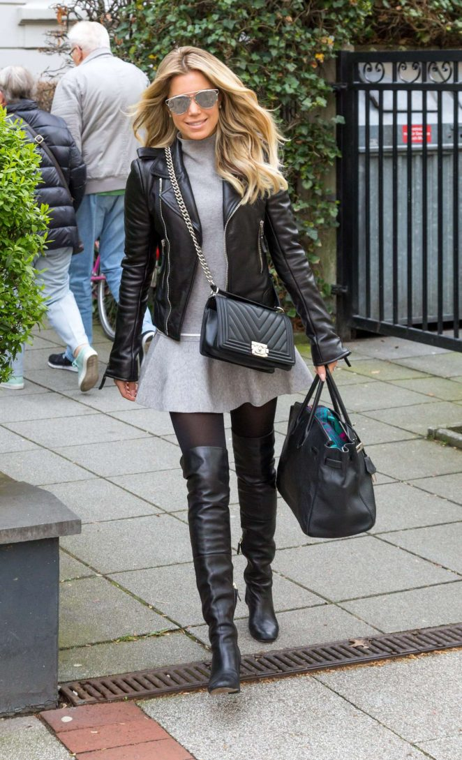 Sylvie Meis out in Cologne -02