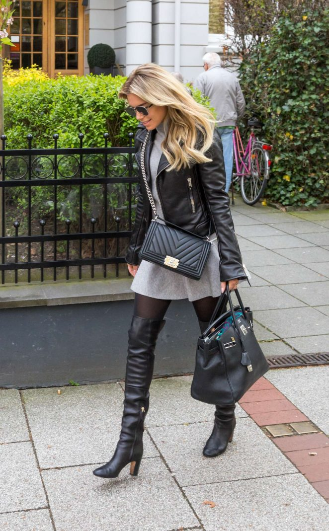 Sylvie Meis out in Cologne -05