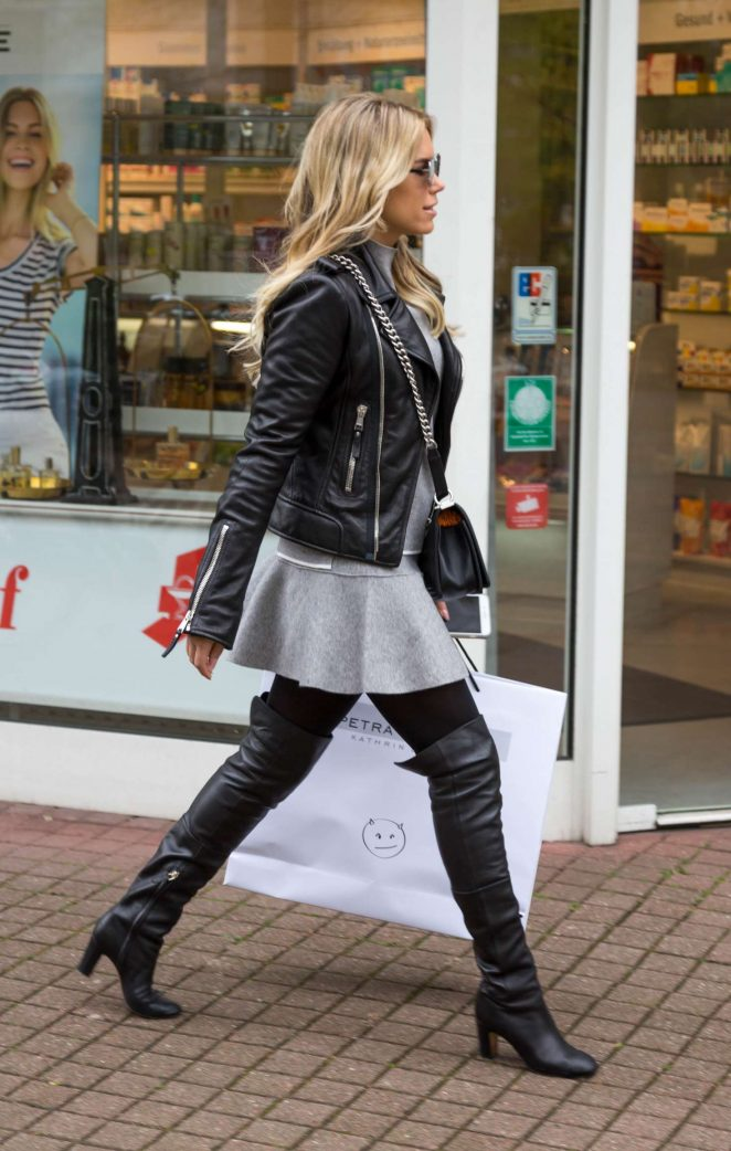 Sylvie Meis out in Cologne -10