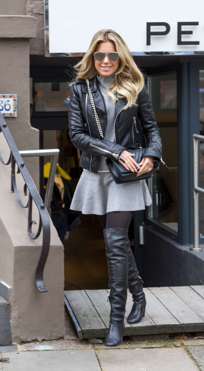 Sylvie Meis out in Cologne