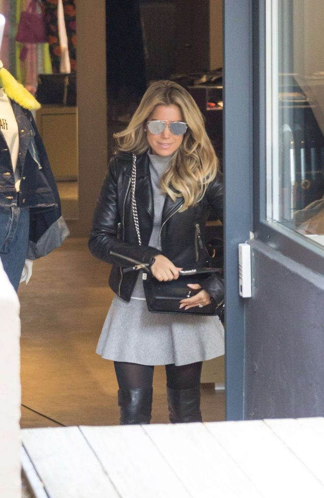 Sylvie Meis out in Cologne -14