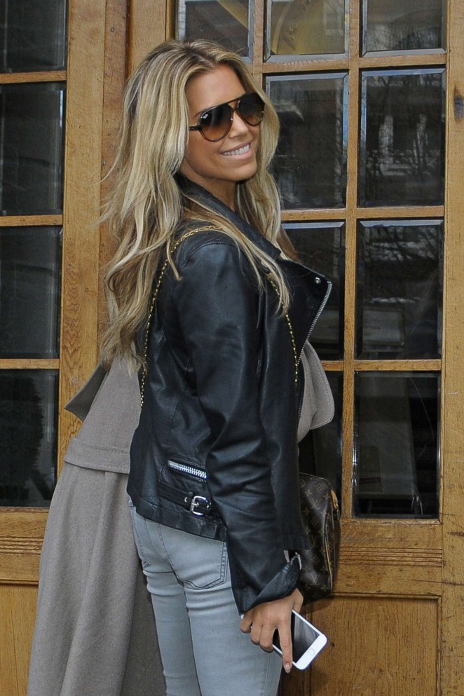 Sylvie Meis out in Hamburg