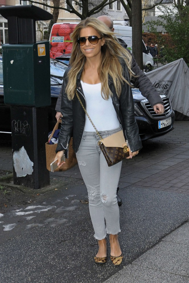 Sylvie Meis out in Hamburg -03