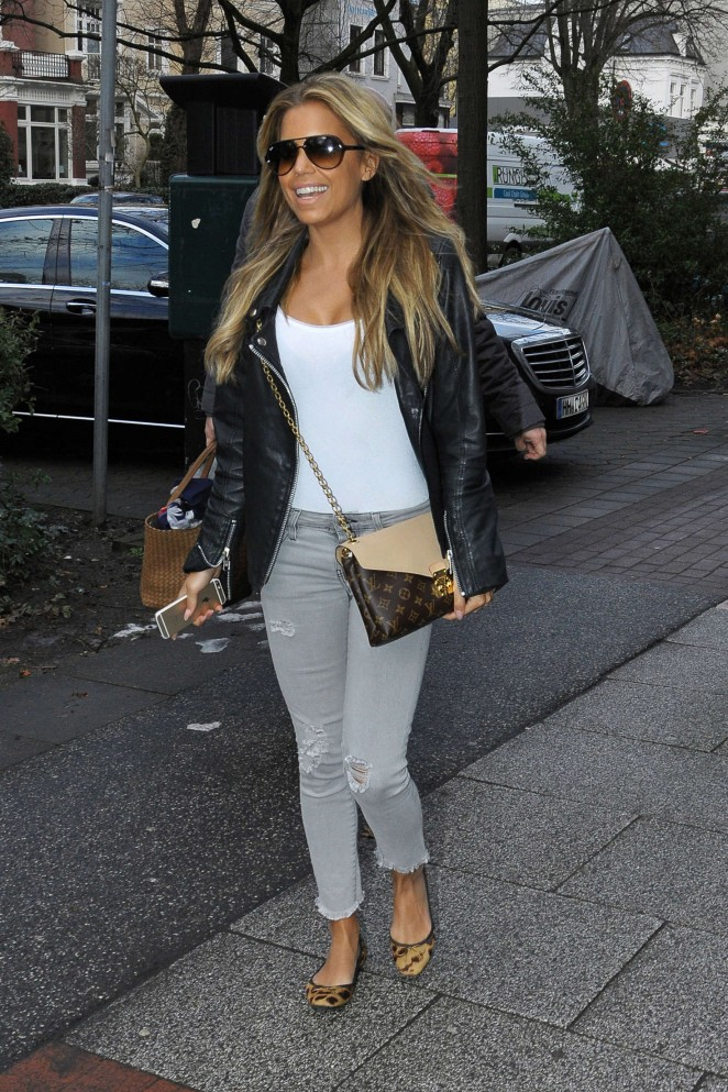 Sylvie Meis out in Hamburg -06