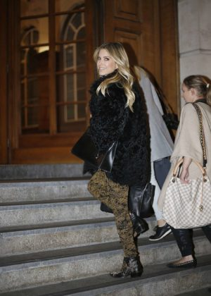 Sylvie Meis out in London