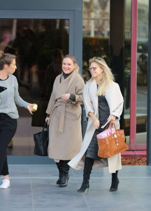 Sylvie Meis out shopping in Koln