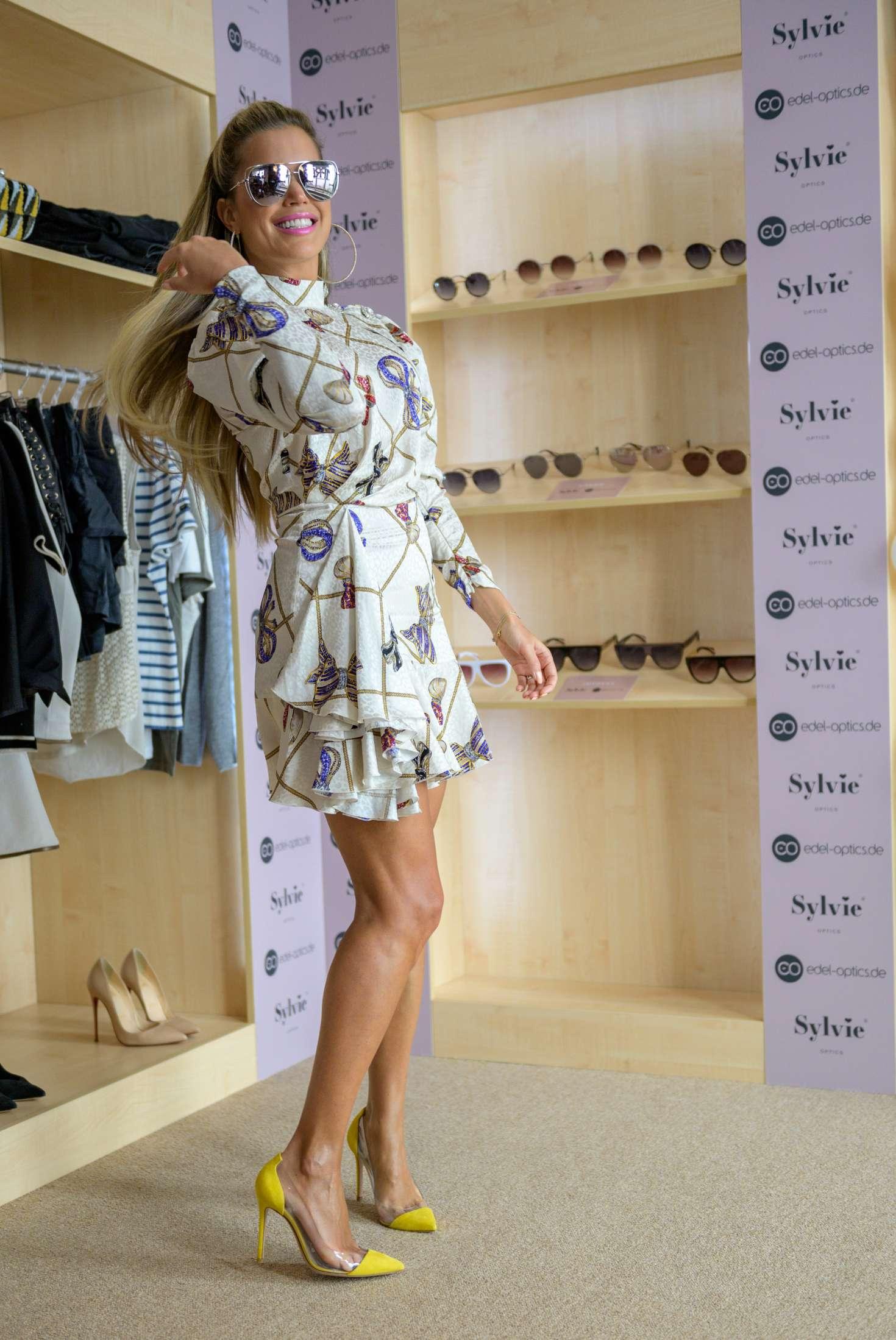 Sylvie Meis 2019 : Sylvie Meis: Presents her edel optics eyewear collection -04
