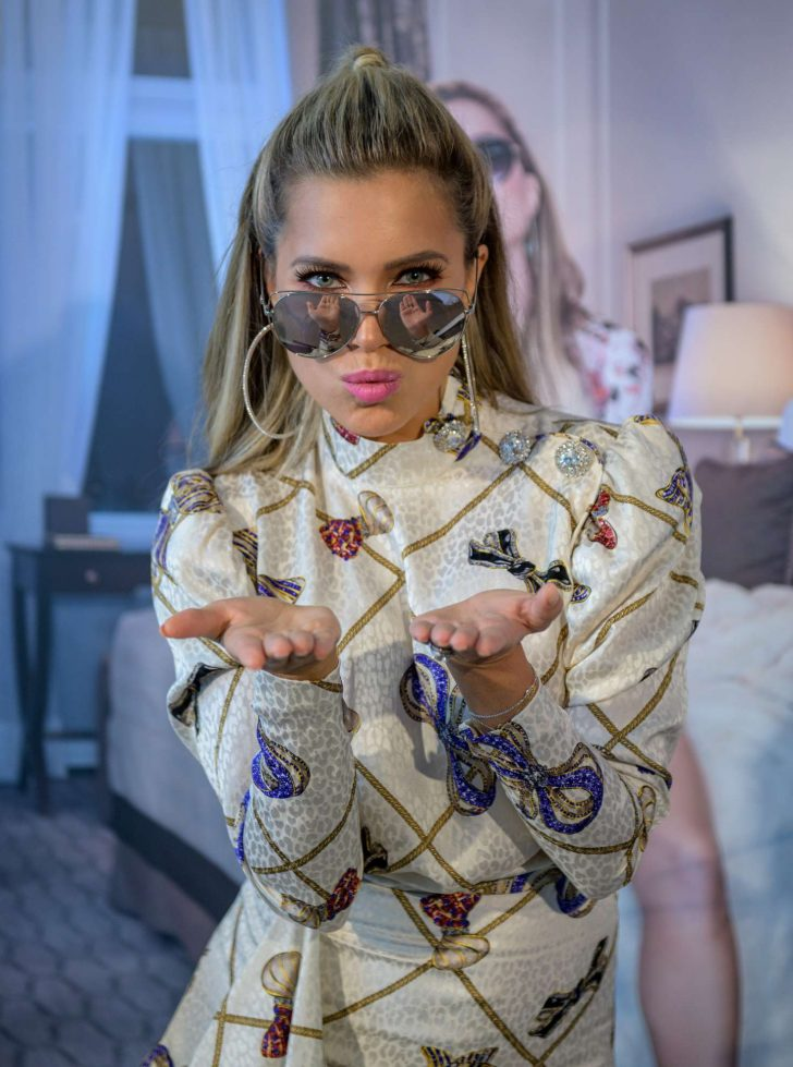 Sylvie Meis - Presents her edel optics eyewear collection in Hambur
