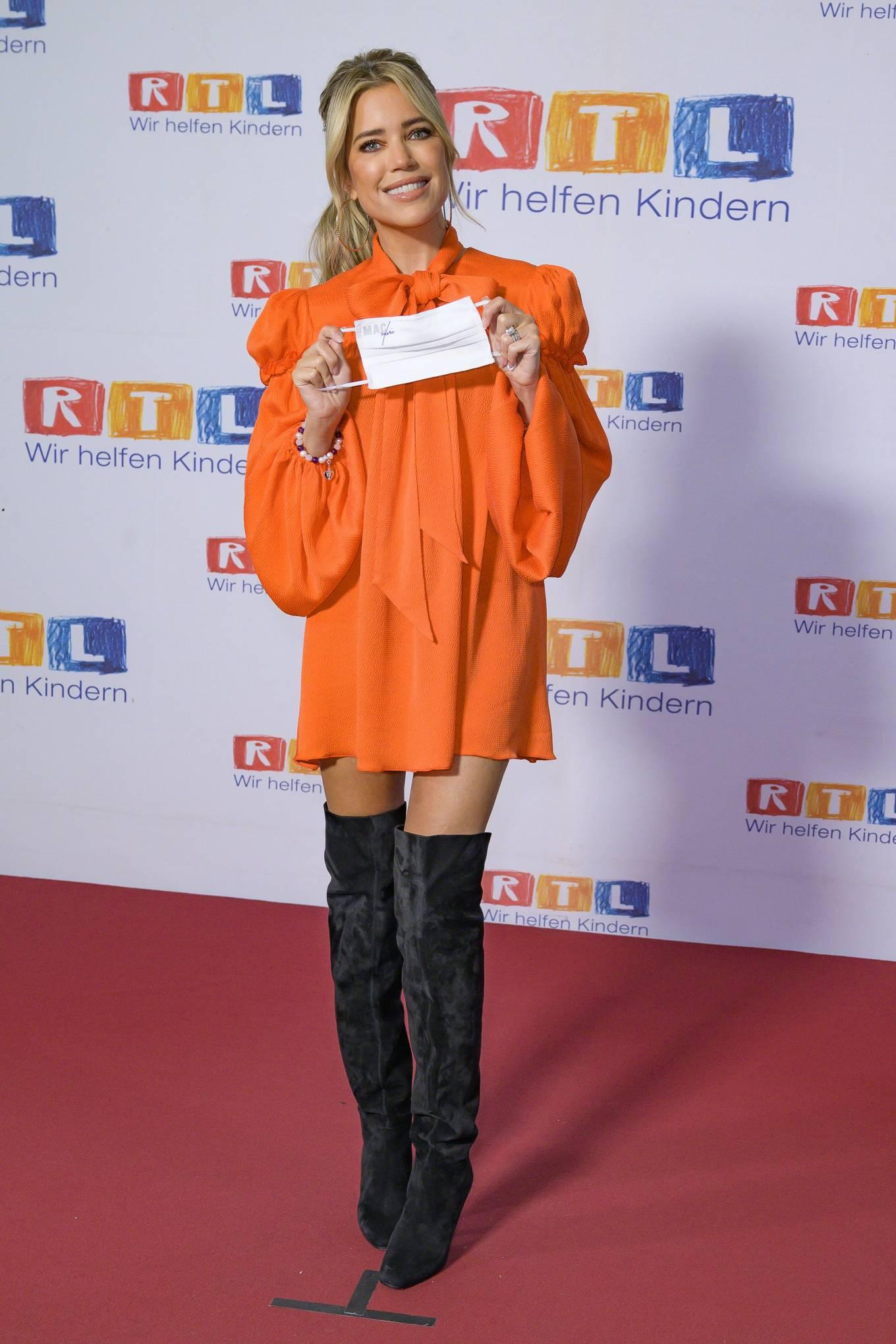 Sylvie Meis 2020 : Sylvie Meis – Red carpet at 2020 RTL Telethon in Huerth-01