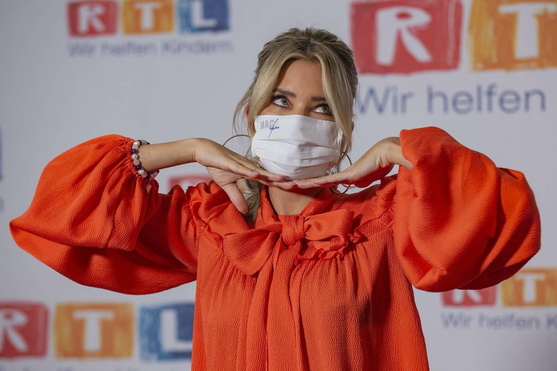 Sylvie Meis 2020 : Sylvie Meis – Red carpet at 2020 RTL Telethon in Huerth-05