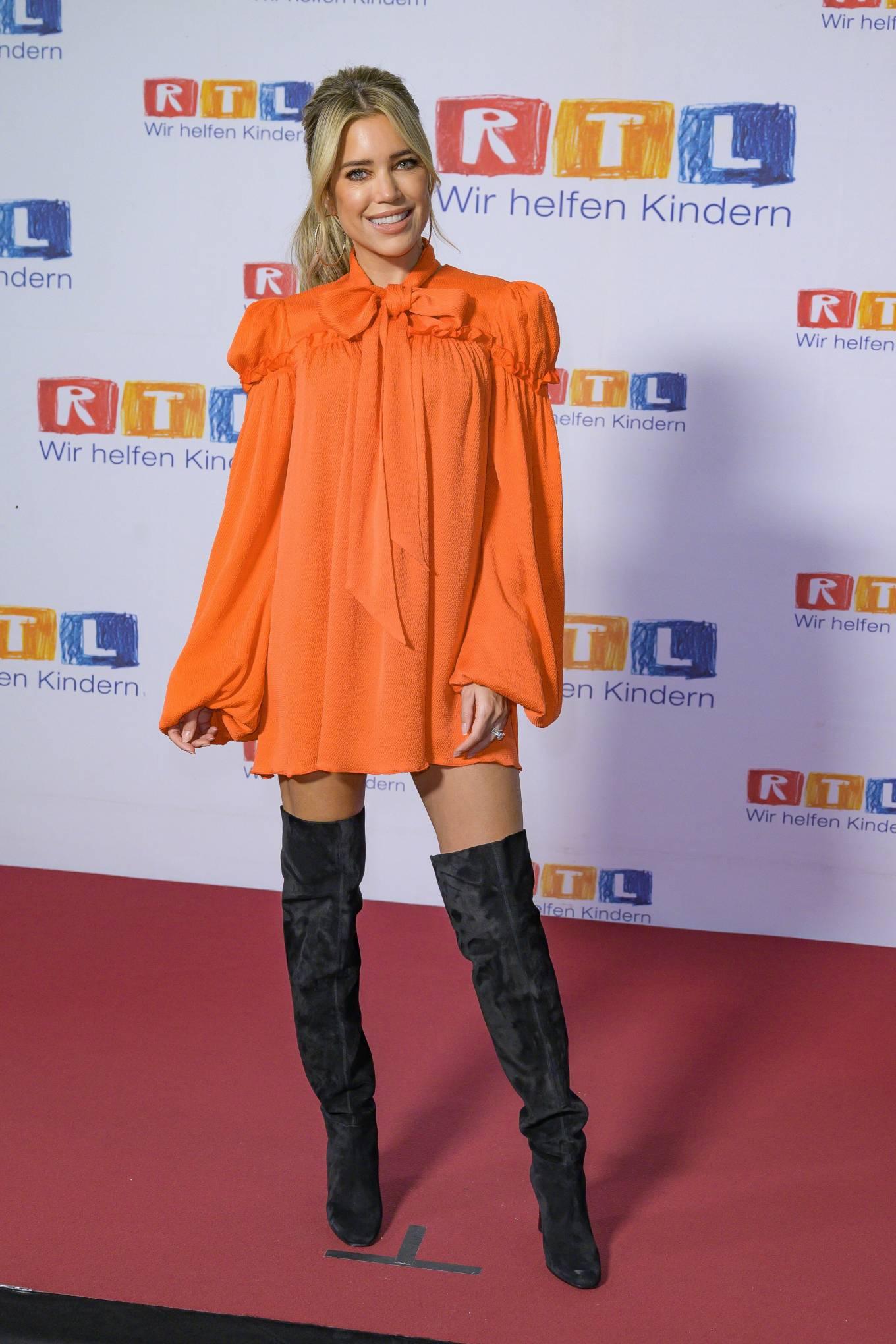 Sylvie Meis 2020 : Sylvie Meis – Red carpet at 2020 RTL Telethon in Huerth-06