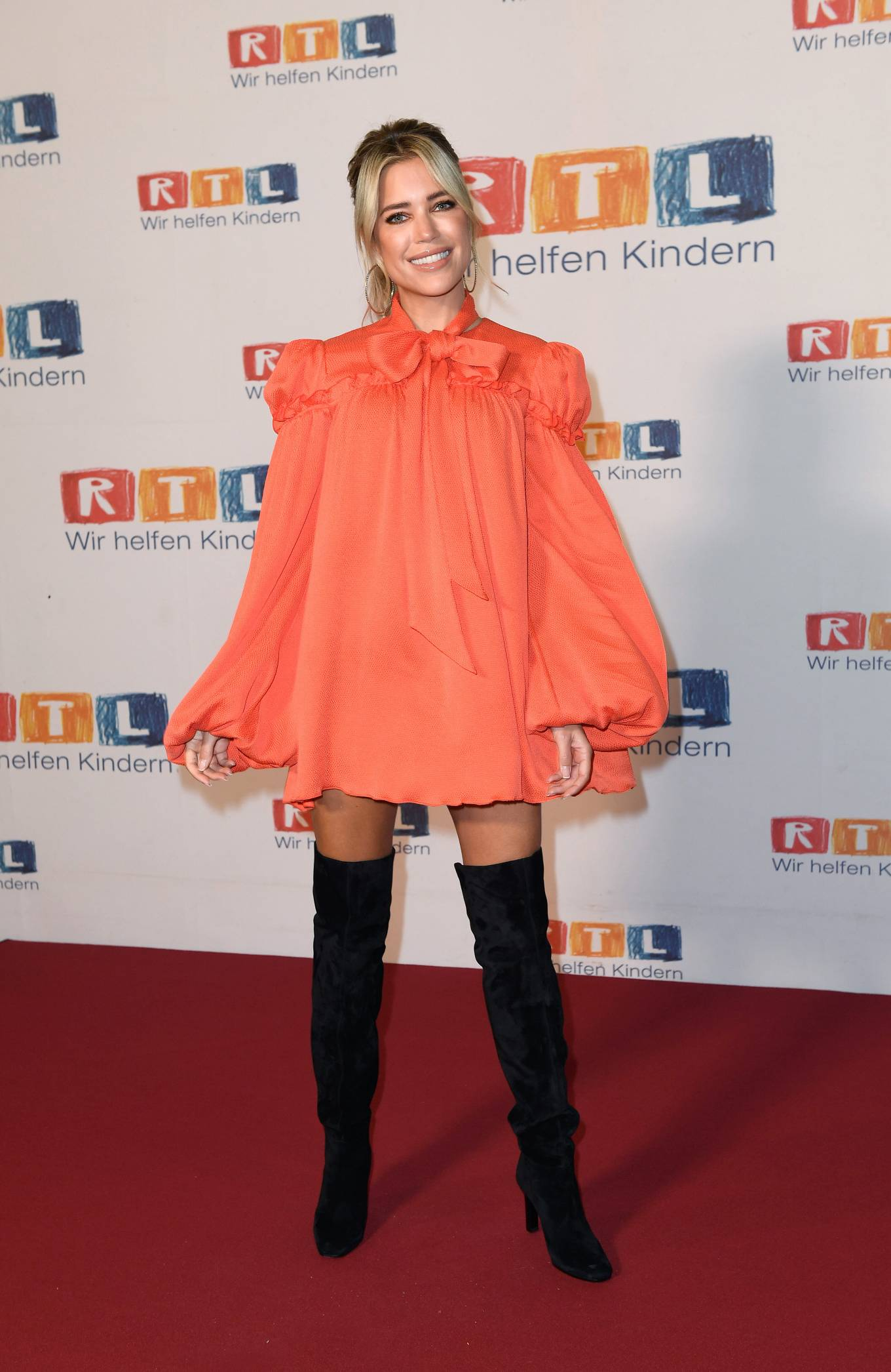 Sylvie Meis 2020 : Sylvie Meis – Red carpet at 2020 RTL Telethon in Huerth-09
