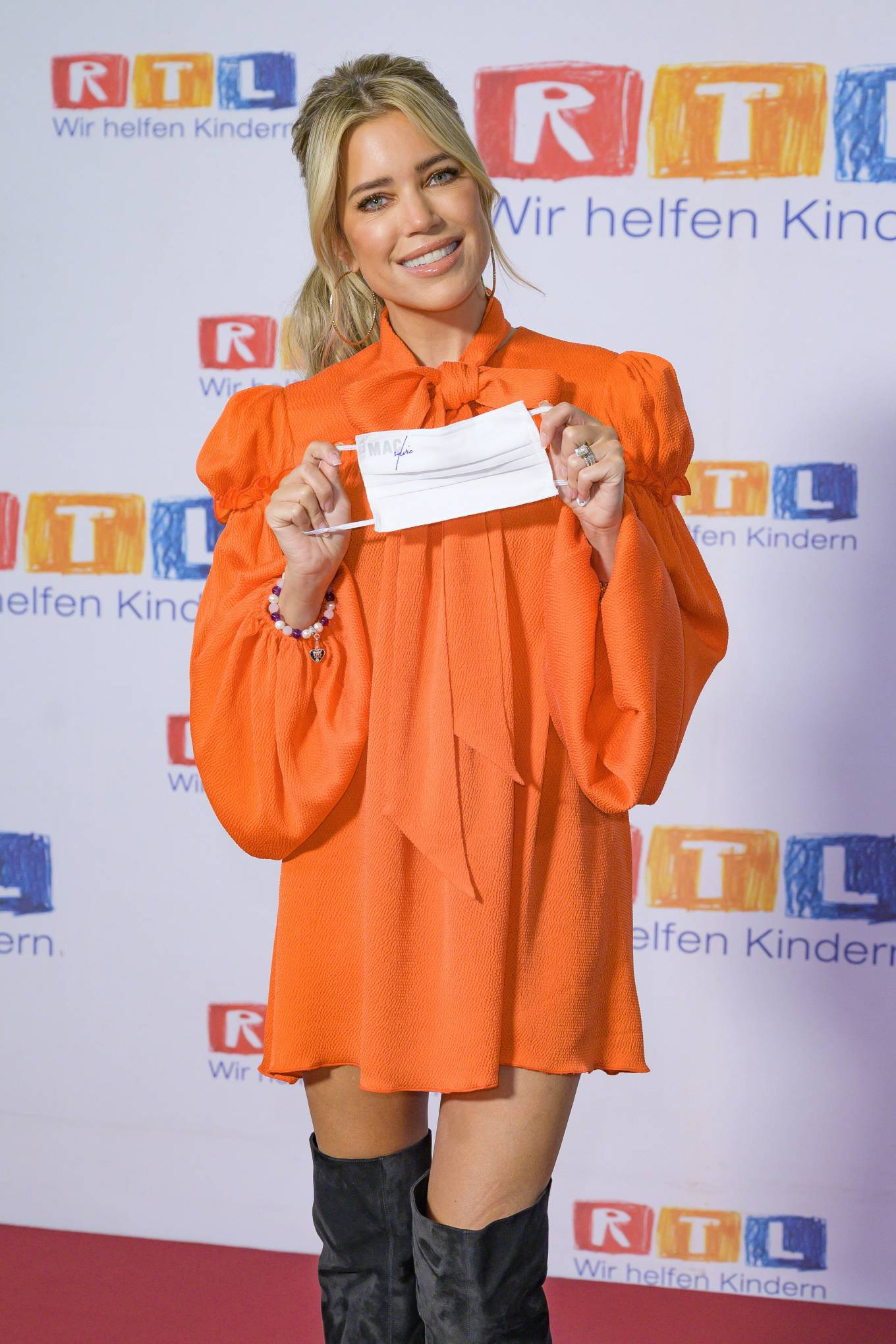 Sylvie Meis 2020 : Sylvie Meis – Red carpet at 2020 RTL Telethon in Huerth-11