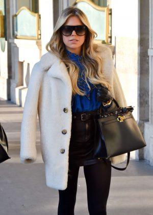 Sylvie Meis - Shoppin in Paris