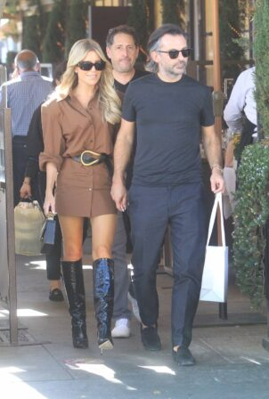 Sylvie Meis - Shopping candids in Beverly Hills