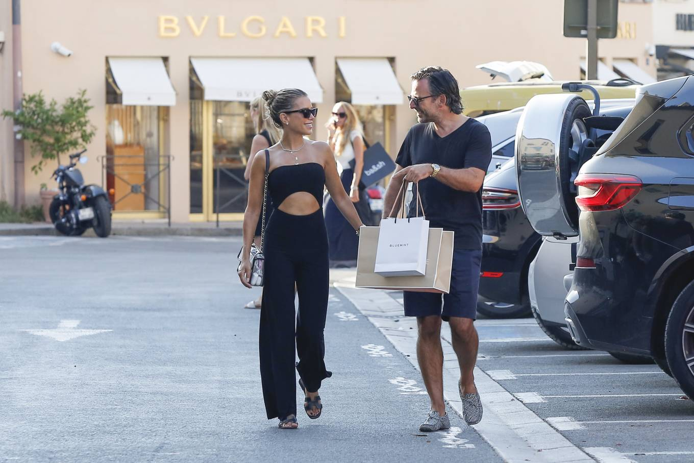Sylvie Meis 2020 : Sylvie Meis – Shopping in Saint Tropez-04