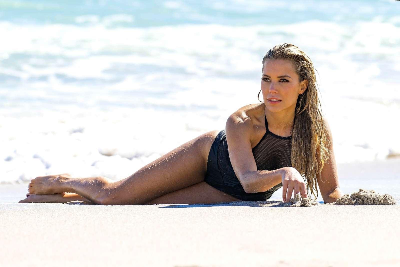 Sylvie Meis – Sylvie Designs Bikini Collection Photoshoot ...