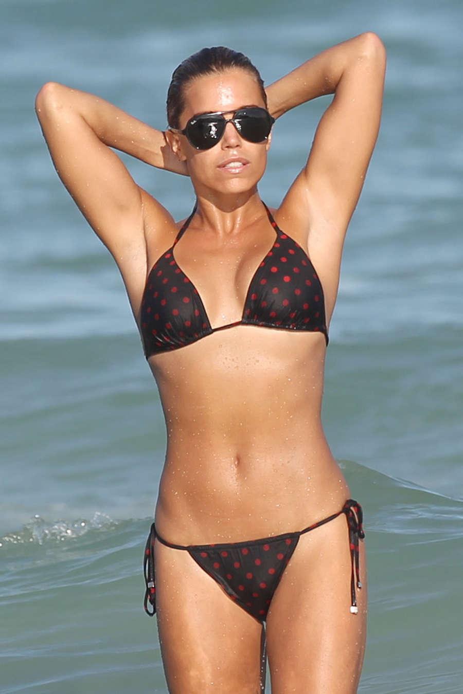 Sylvie Meis in Bikini on Miami Beach