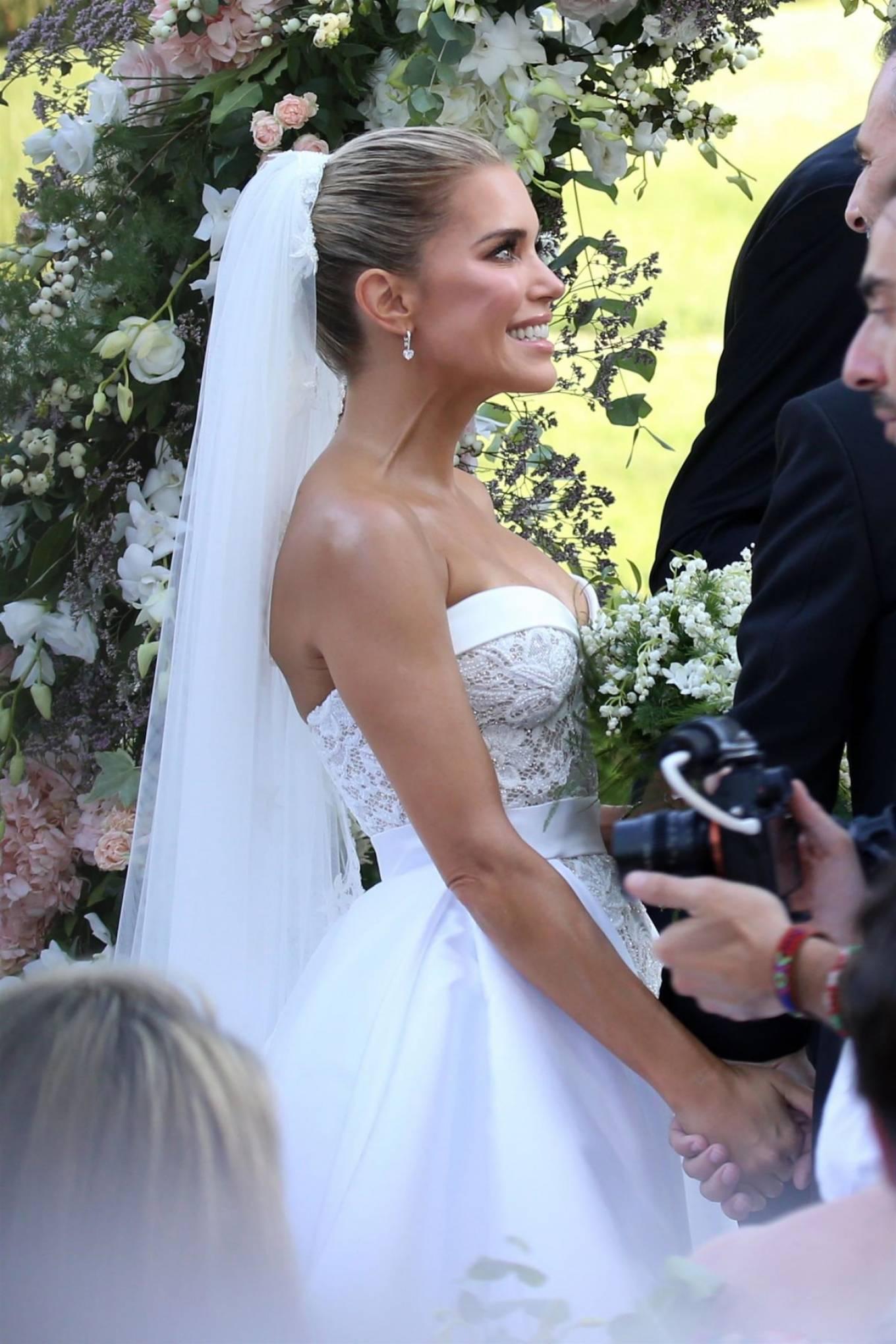 Sylvie Meis 2020 : Sylvie Meis – Wedding Ceremony in Florence-02