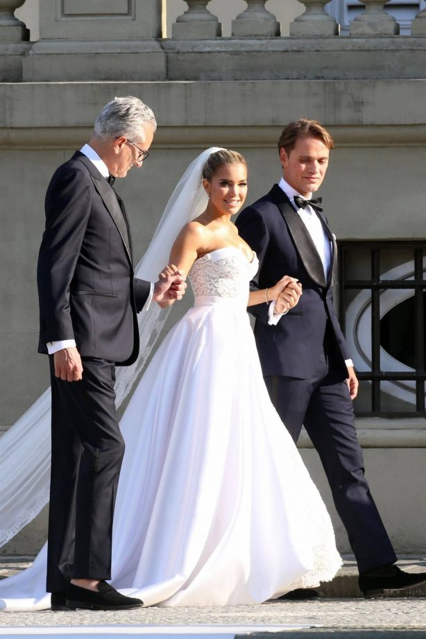 Sylvie Meis - Wedding Ceremony in Florence